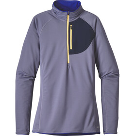 Patagonia W's Thermal Speedwork Zip Neck Shirt Lupine